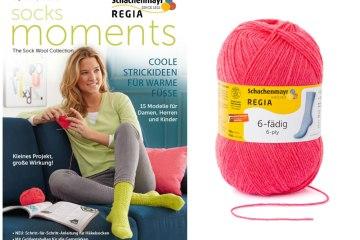 Verlosung - Regia Magazin Sockenwolle regia magazin 001 Verlosung: Regia Magazin 001 – Socks Moments plus passendes Regia-Garn
