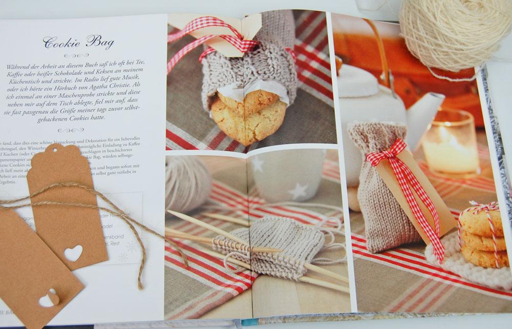 Wintertraum & Strickzauber - Cookie Bag  Buchbesprechung: Buch <i>Wintertraum & Strickzauber</i> von epipa