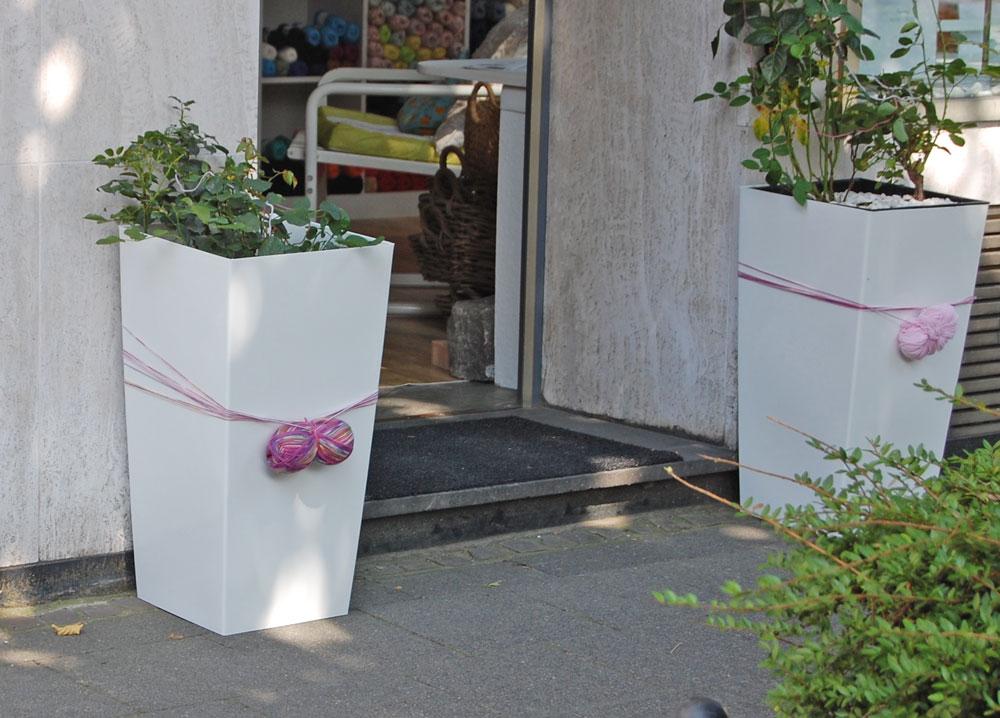 Garn Store - Eingang  Anja Diewald vom Garn Store im Interview