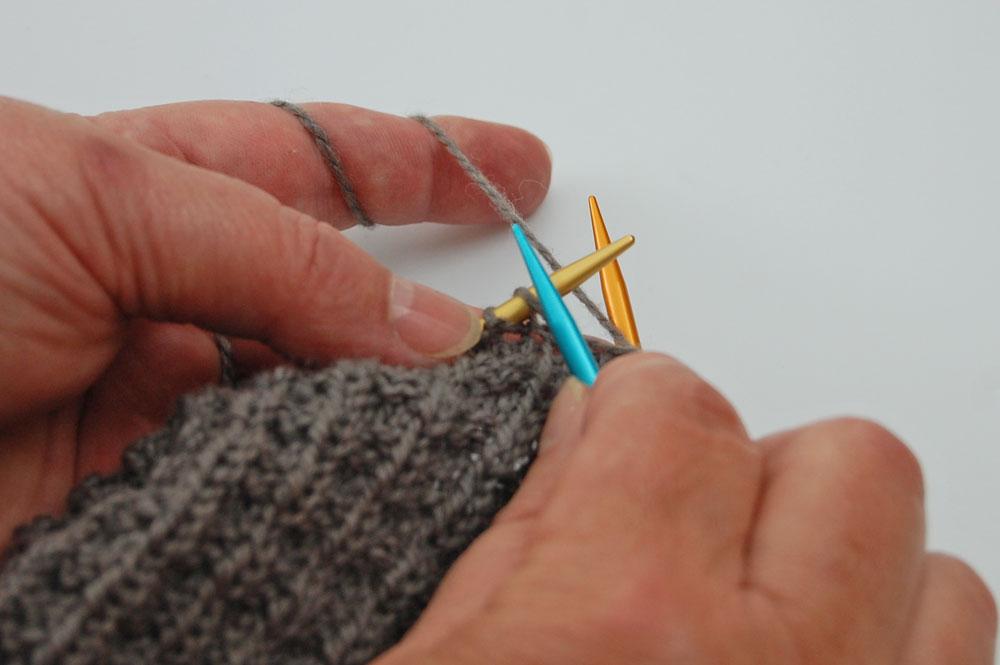 addiColibris - Nadelwechsel ist beendet  Stricktipp: addiColibris - richtige Spitze bei Nadelwechsel