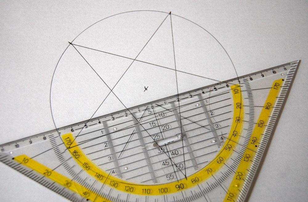 Weihnachtssterne nähen - Schnitt zeichnen  Tutorial: Christmas star sewing pattern