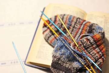 Handarbeitslexikon - Titelbild handarbeitslexikon Das humorvolle Handarbeitslexikon von Wollsternchen Bettina Kalandra