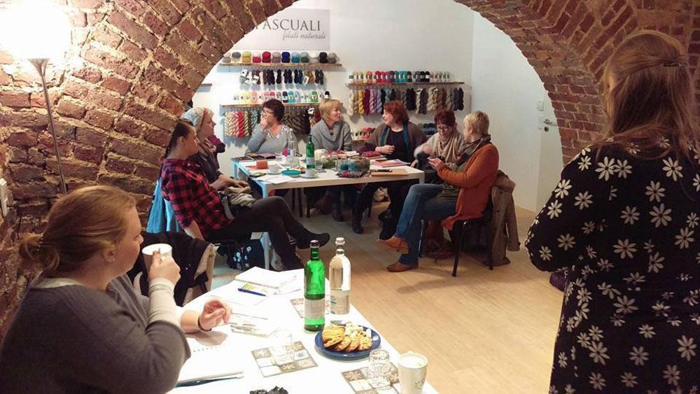Workshop mit Sylvie Rasch  17 geniale Geschenke für den Strickfan