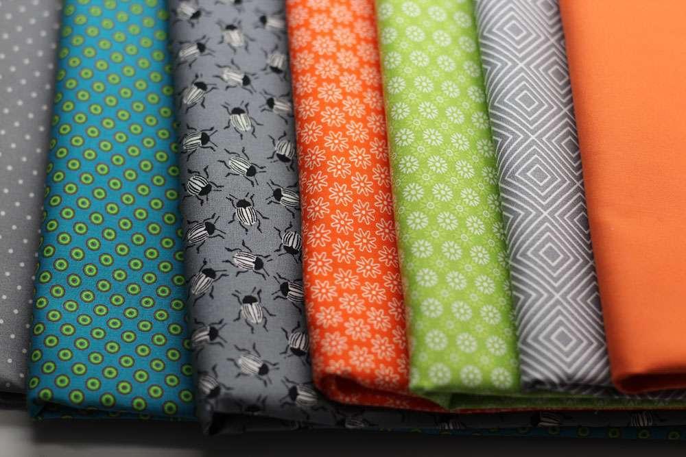 6 Köpfe - zwölf Blöcke - Stoffauswahl  Teilnahme am Quilt-Along 6 Köpfe - 12 Blöcke - Anmeldung und Material
