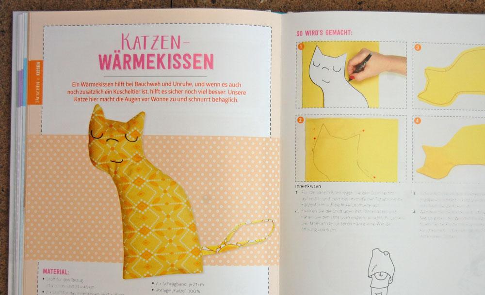 Mama Baby Nähbuch - Katzen-Wärmekissen Mama Baby Nähbuch Buchbesprechung: Mama Baby Nähbuch von Susanne Bochem