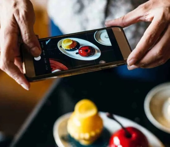 Yes, people do post photos of their food, but that's not ALL social media is about