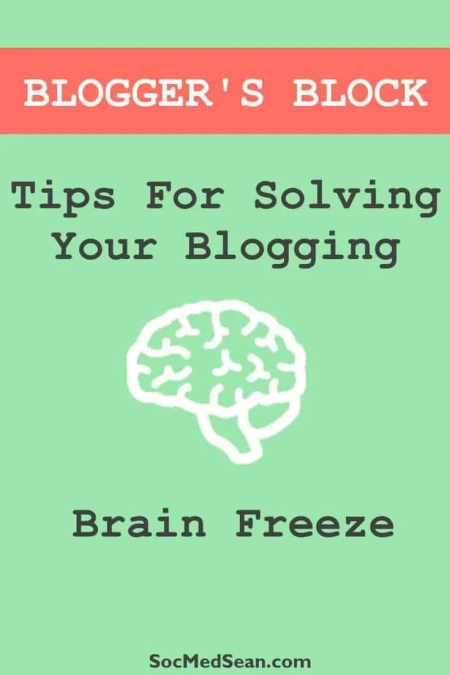 Tips and tricks for identifying and avoiding blogger's block
