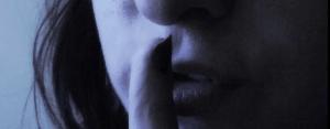 Shhh.... photo courtesy of Sarah G on Flickr via Creative Commons license.