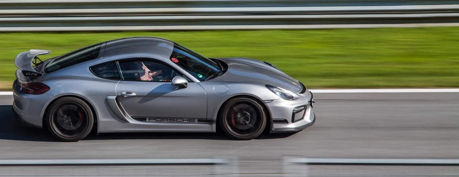 We want our WordPress sites to be blazing fast...like a Porsche on the track!