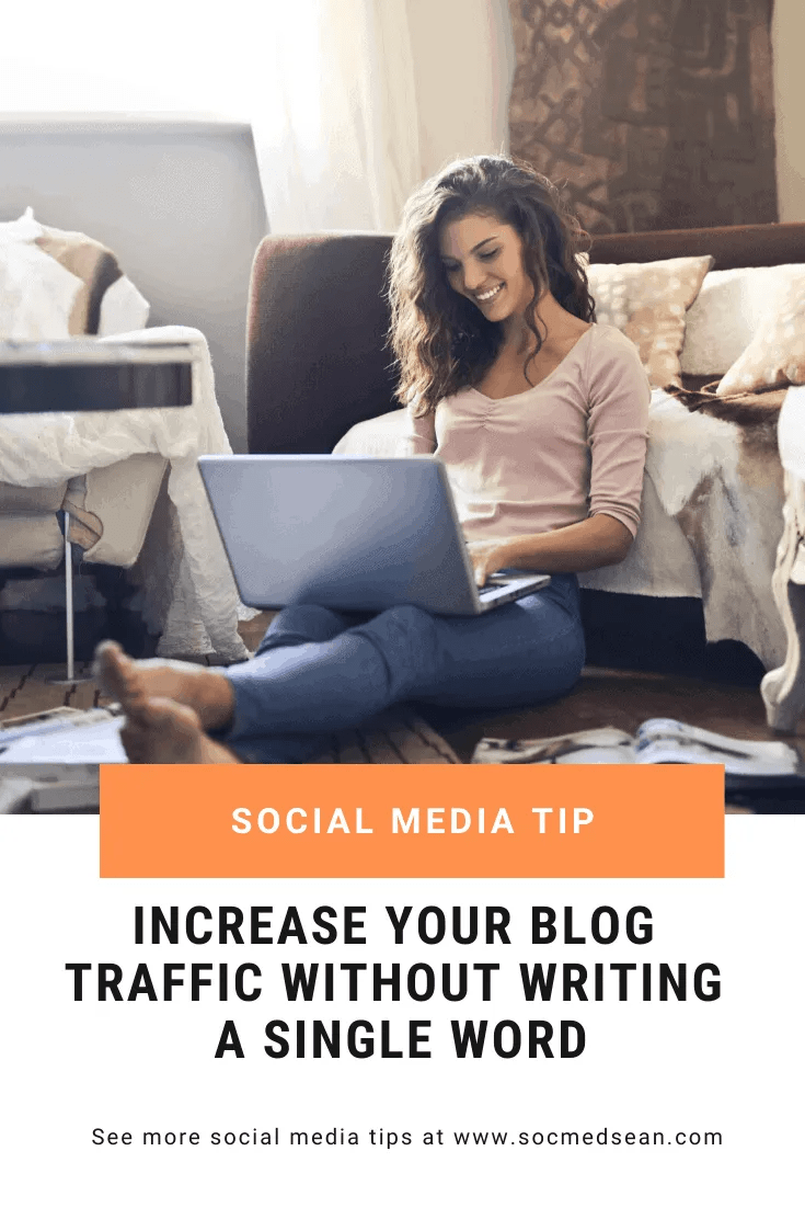 Grow your blog traffic without writing a single word