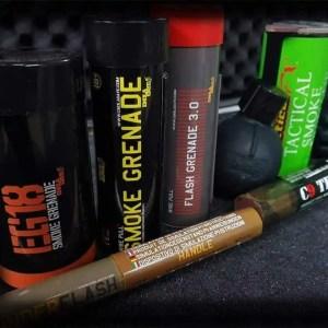 Airsoft Grenades & Pyros