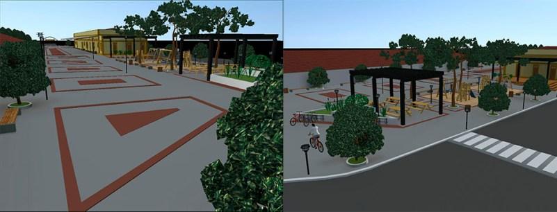 Projeto da Praça do Amanhã