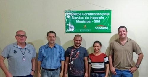 Socorro recebe visita técnica de Porto Feliz para conhecer o Sistema de Inspeção Municipal – SIM/POA