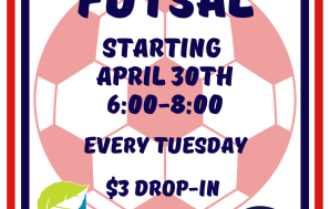 Drop-in futsal coming to Garfield Park every Tuesday