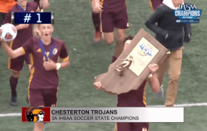 Chesterton's OT header earns ISC Sports Network's top Play of…