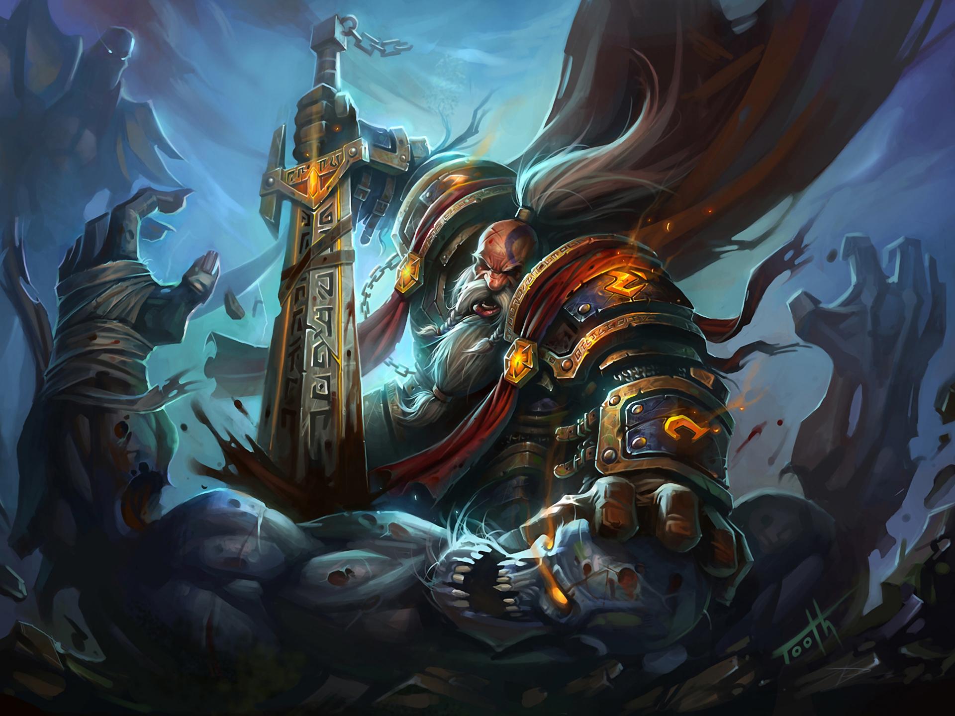 Dwarf Paladin World Of Warcraft By Wowblizzgameru