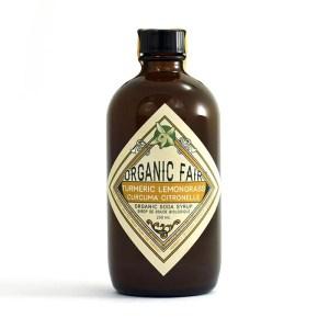 Turmeric Lemongrass Organic Botanical Soda Syrup