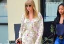 #Acessório: Taylor Swift usa óculos banhado a ouro Elie Saab