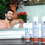 Mariano lança linha masculina para limpeza capilar