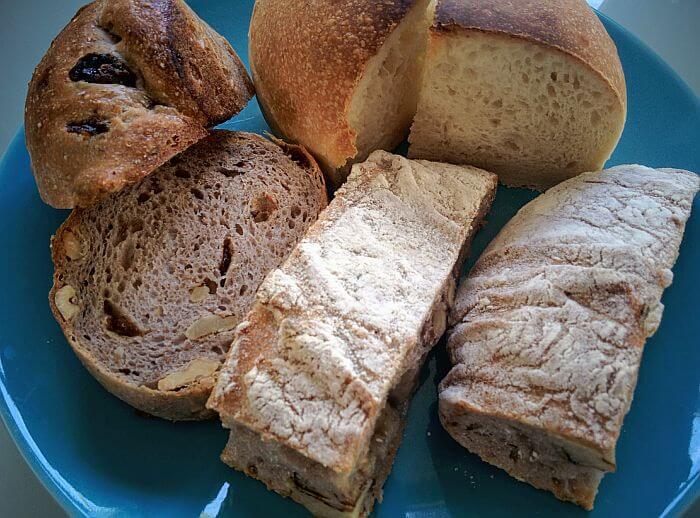 JARDIN DU SOLEILのパン