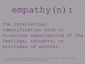 Empathy, Listening