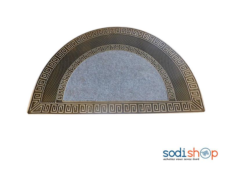 tapis de sol en demi cercle pour entree sodishop mk00101