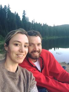 Joe and Kathy Camping