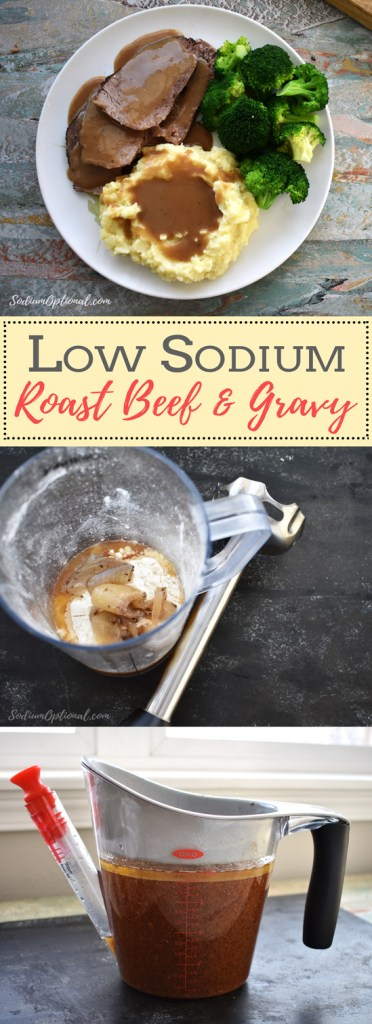Low Sodium Beef Gravy