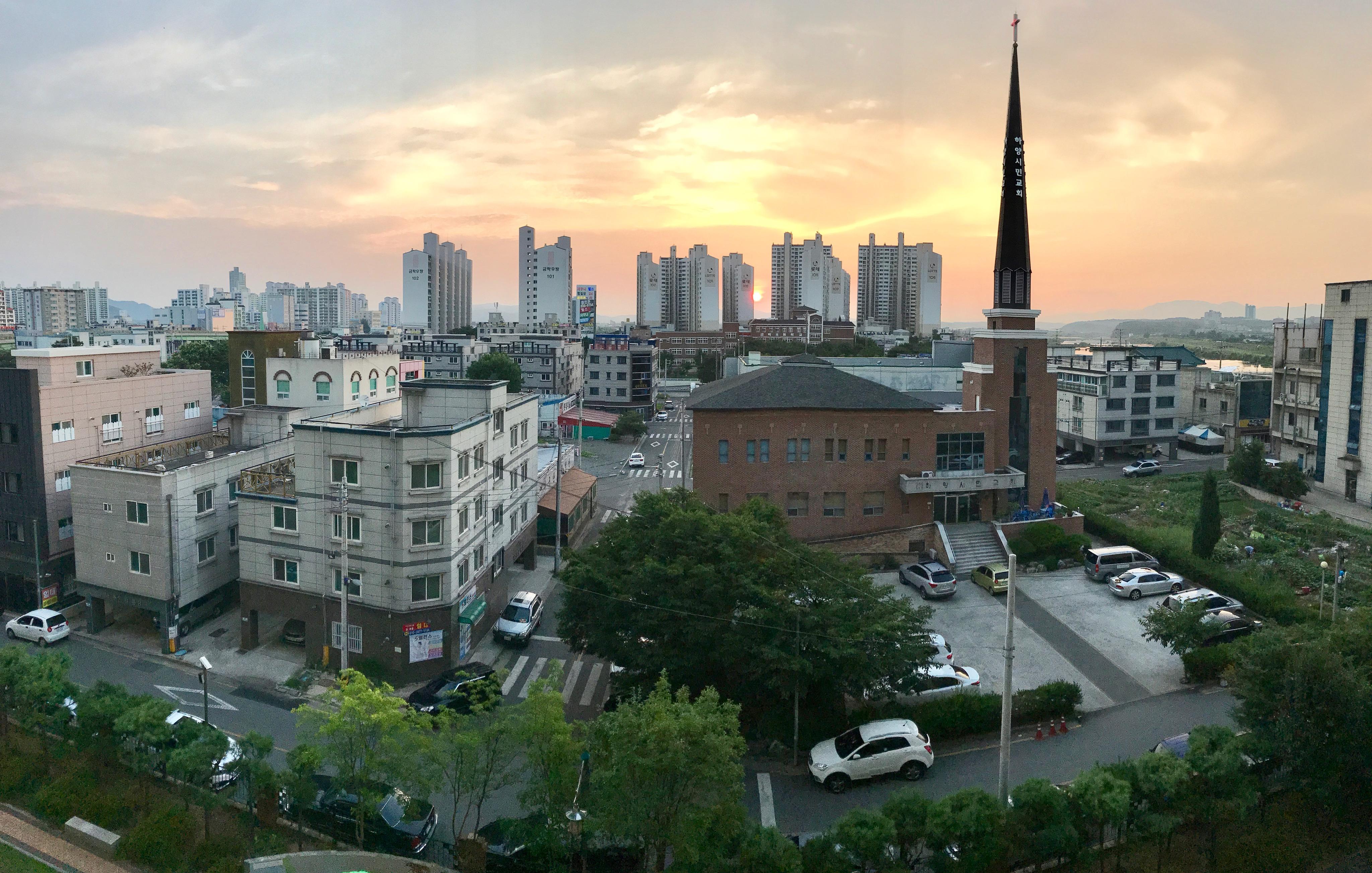 South Korean Sunrise