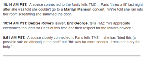 Article TMZ 5 juin