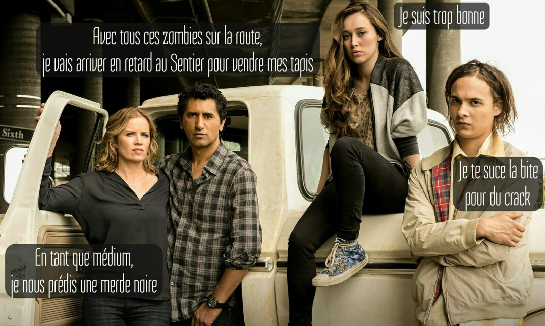 fear the walking dead family