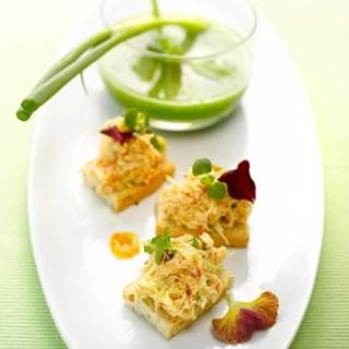 gazpacho van komkommer met munt