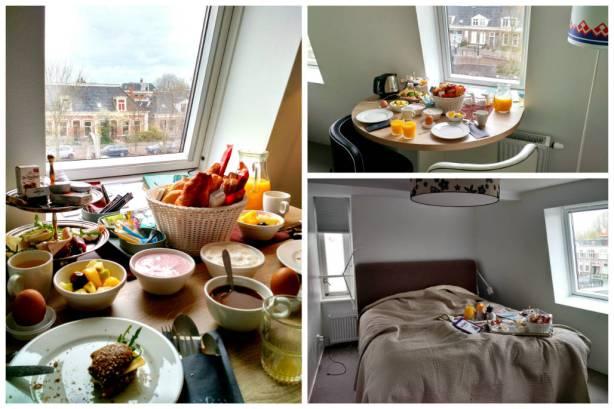 Stadslogement KingSize - de kamer en het ontbijt
