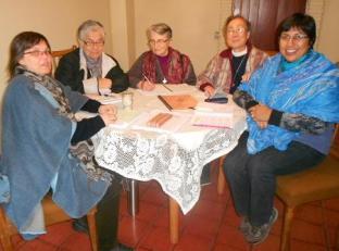 Congrégation des soeurs de L'Enfant Jésus : Rencontres internationales au Chili