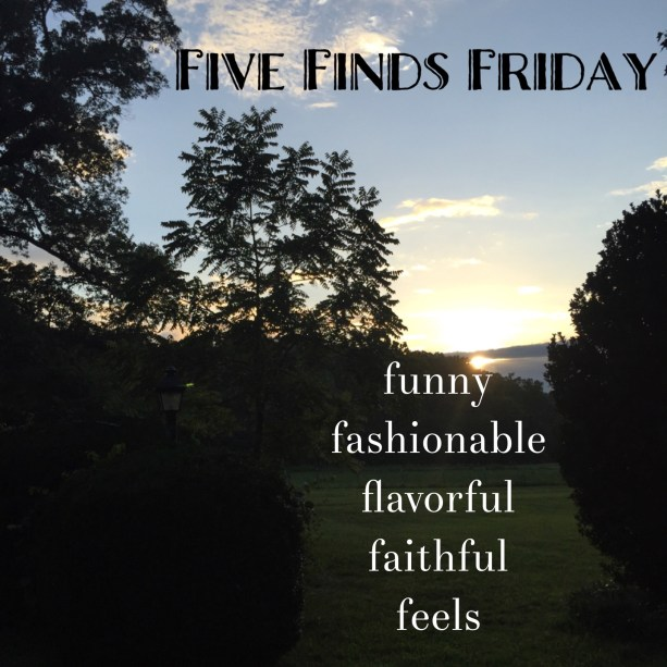 Five Finds Friday (homemade herb dip, an Anne Review, and Otto spends money)