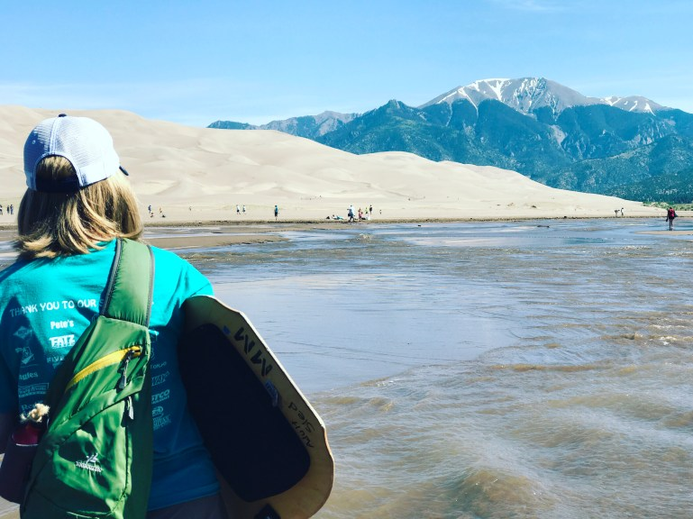 The Great Sand Dunes National Park, Colorado (And Kristie Mountain Sports)