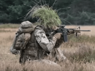 43 Commando training in exercise someplace in Germany