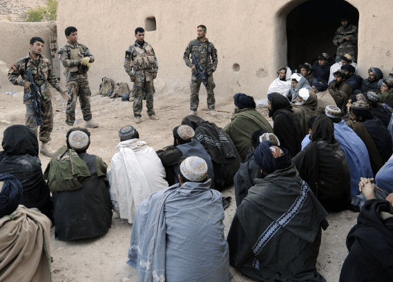 Village Stability Operations - SOK conducts shura