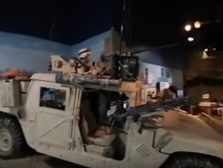 Vehicle on display at Airborne & Special Operations Museum in Fayetteville, NC. (Image from video by Drew Brooks of Fayetteville Observer, July 2017)