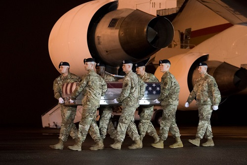 Photo by Staff Sergeant Aaron J. Jenne, Dover Air Force Base, November 6, 2018.