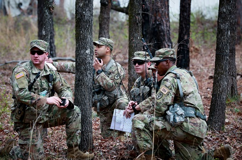 2nd SFAB Soldiers training at Fort Benning. Photo by FORSCOM, March 10, 2018.