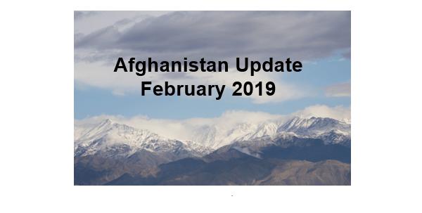 Afghanistan Update February 2019 SOF News