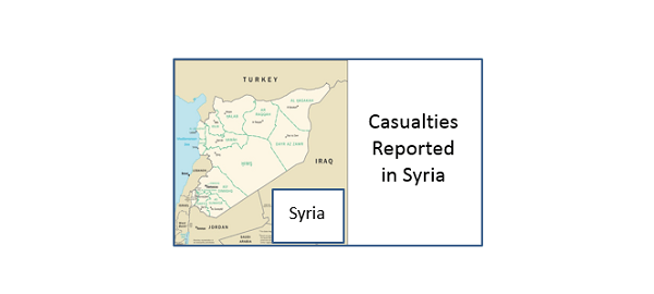 Casualties in Syria