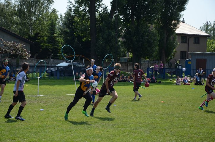 Szene Match Quidditch Direwolves