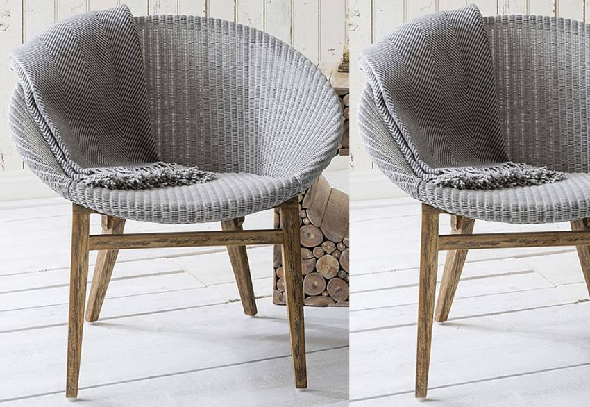 Gallery Direct Heligan Lloyd Loom Double Amp Kingsize Beds Tapered Wood Legs Kew Lloyd Loom