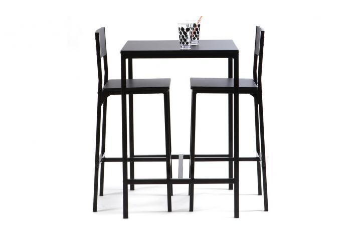 Table Haute Avec 2 Chaises FUNKY Design Sur SoFactory