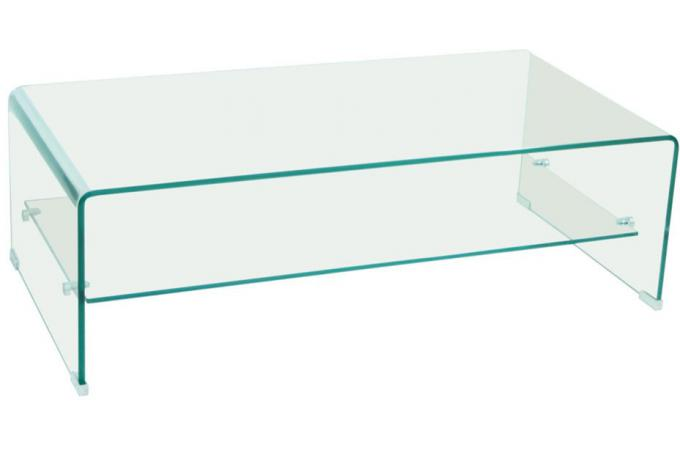 Table Basse Rectangulaire En Verre OTTAWA Design Sur SoFactory