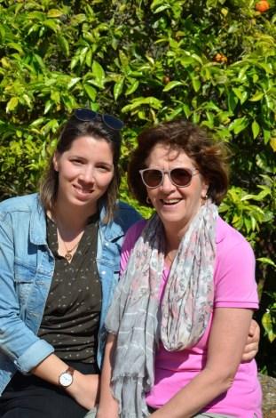 Mama und Ich in Chellah (in Rabat, Eintrag folgt)