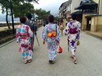 Die erste Kimono-Sichtung