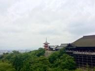 Kizomizu-dera ist ein 1.200 Jahre alter buddhistischer Tempel mit fantastischem Ausblick über Kyoto.